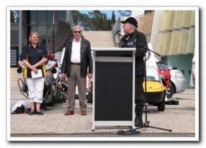 Mick Gentlemen, local member for Brindabella, opening Motorcycle Awareness Week 11th Oct 2008